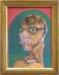Van Gogh med briller  2014  Olje  123x96 cm WEB